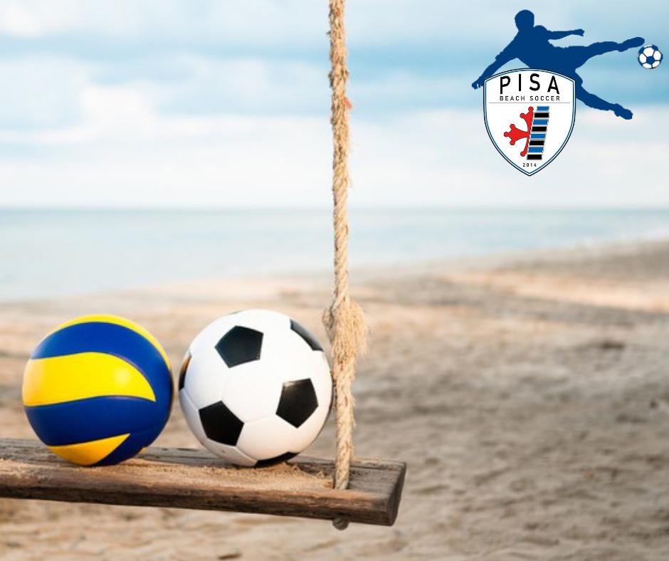pisa beach soccer